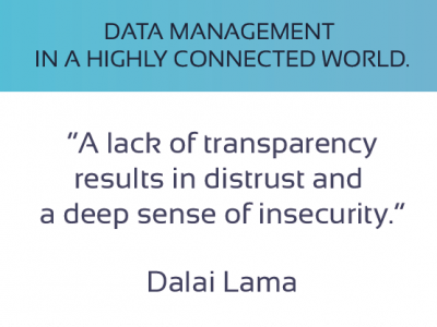 Data Management in a Highly Connected World.