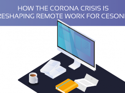 How the corona crisis is reshaping remote work for cesonia