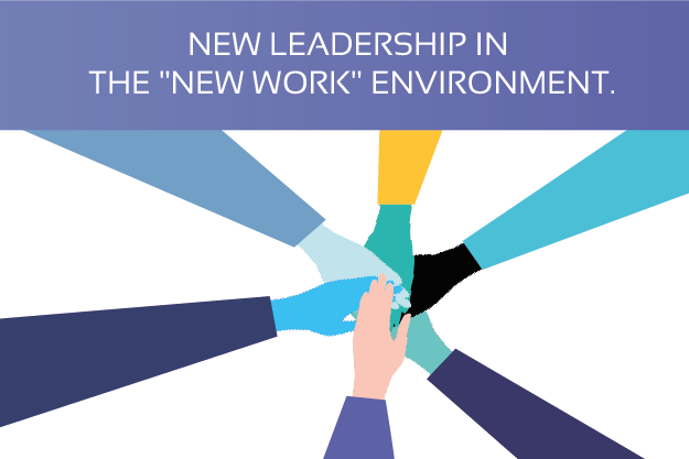 "New leadership in the ""New work"" environment."