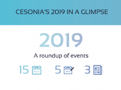 Cesonia's 2019 in a glimpse
